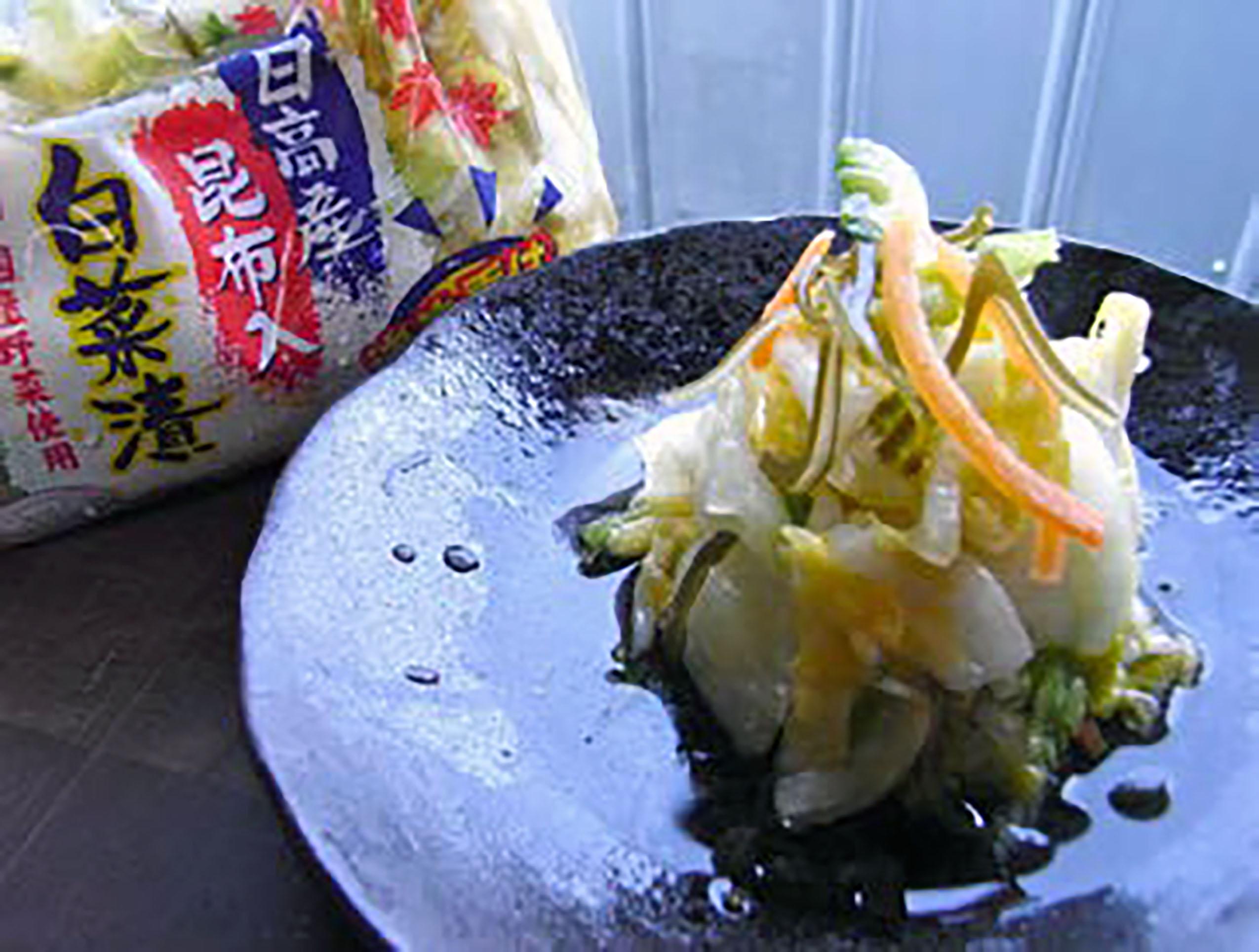 昆布入白菜漬